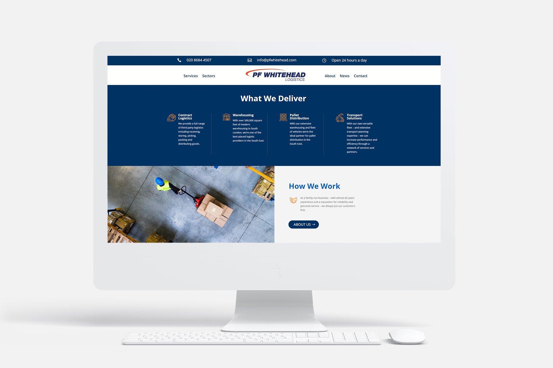 PF Whitehead - Website - Press Release